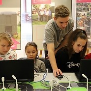 Children coding
