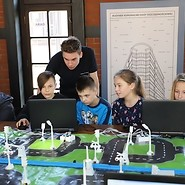 We are programming at at the Museum of Municipal Engineering in Krakow