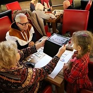 Children and seniors are coding