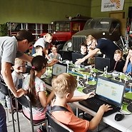 Coding at the Automotive and Technology Museum in Bialystok