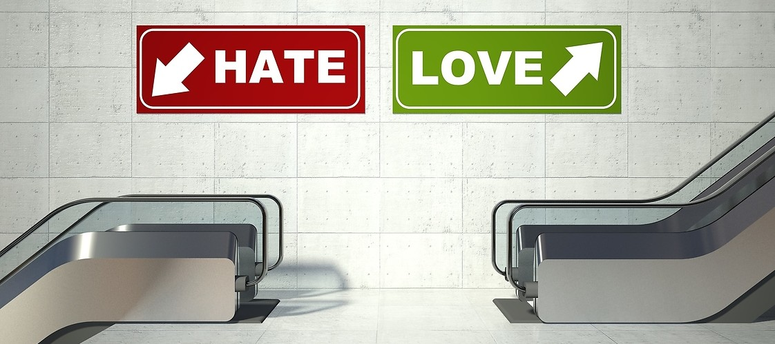 hate vs love
